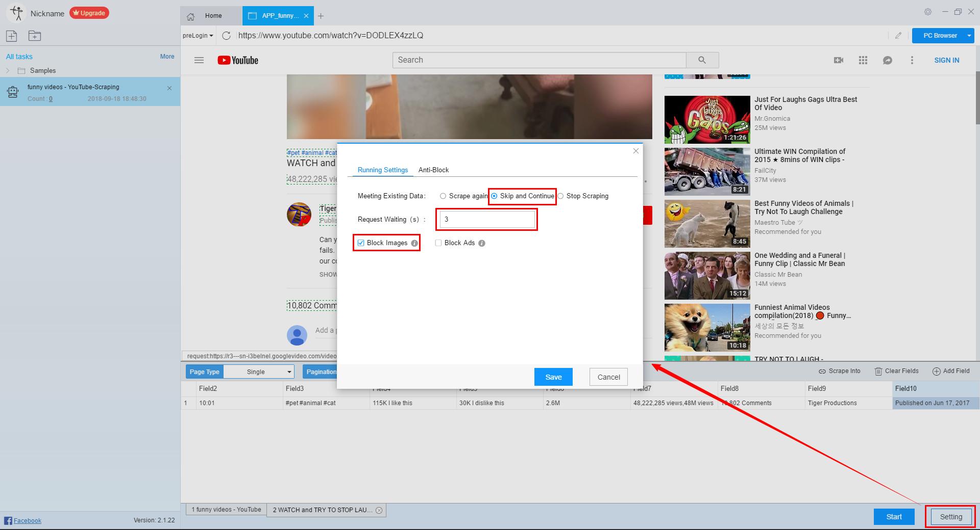 Web Scraper Video Tutorial